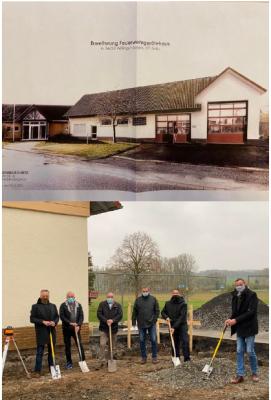 """Pressemitteilung """"Erweiterung des Feuerwehrhauses im Ortsteil Zella"""""""