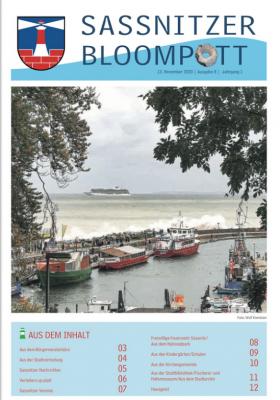Vorschaubild zur Meldung: Sassnitzer Bloompott 08.20 ist erschienen