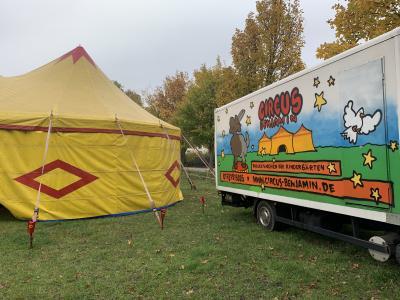 Vorschaubild zur Meldung: Zirkusprojekt im Kinderhof Reh-Kids