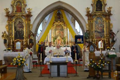 Bild der Meldung: Martiniritt 2020 - Pfarrpatrozinium mit Festgottesdienst gefeiert