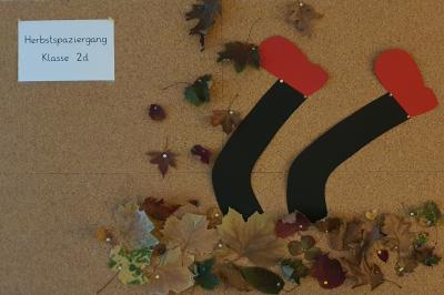 Foto zur Meldung: Klasse 2d: Herbstspaziergang