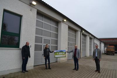 Foto zur Meldung: Zuschuss für kommunale Energieprojekt durch die ESB