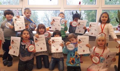 Bild der Meldung: Lernerfolg in der Vorschulgruppe