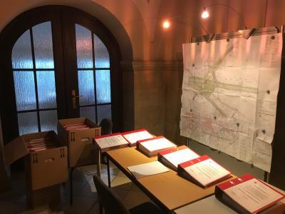 Die Unterlagen können im Foyer des Rathauses eingesehen werden I Foto: Martin Ferch