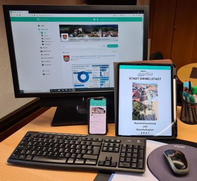 Über die Dorfapp Crossiety arbeiten die städtischen Gremien digital und nun auch auf den IPADS, die alle Mandatsträger zur jüngsten Sitzung ausgehändigt bekamen