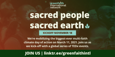 Sacred People, Sacred Earth Kickoff Event