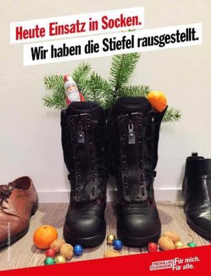 Bild der Meldung: Die Feuerwehr Kirchardt wünscht einen schönen Nikolaustag!