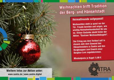 Bild der Meldung: Weihnachten trifft Tradition unserer Berg- und Hänselstadt