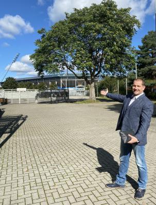Präsident Matthias Große in Rostock