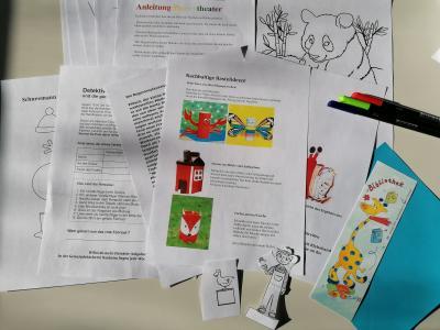 """Foto zur Meldung: """"Kids-Fun-Päckchen"""" von der Kinder- und Jugendförderung für Grundschulkinder"""