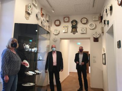 """Bild der Meldung: """"Waechtersbacher Keramik"""" im Schloss verewigt"""
