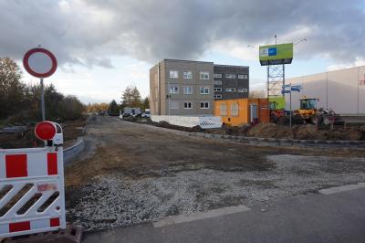 Straßenbaumaßnahme Woschkower Weg