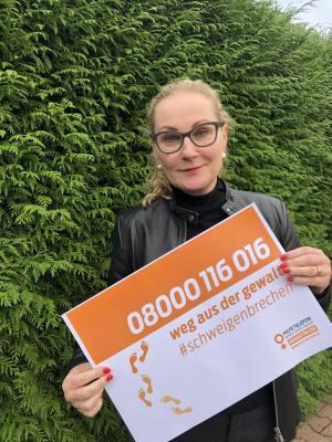 """Foto zur Meldung: """"Wir brechen das Schweigen"""" - 25.11. Internationaler Tag """"Nein zu Gewalt an Frauen"""""""