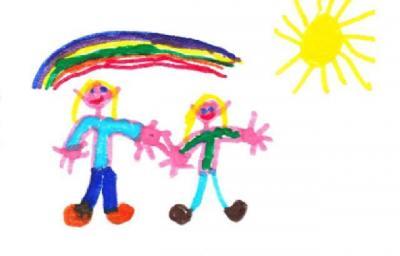 Vorschaubild zur Meldung: Übung mit den Kindern zum Verhalten im Brandfall