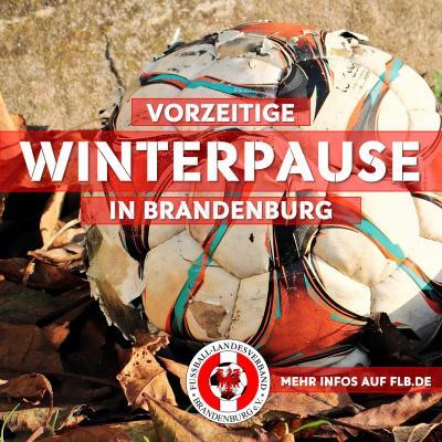 Vorschaubild zur Meldung: Vorzeitige Winterpause in Brandenburg
