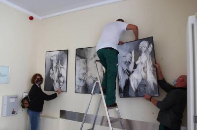 """Vorschaubild zur Meldung: Ausstellungseröffnung """"Nachlese 8"""" zum Märkischen Kunstpreis"""