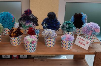 Foto zur Meldung: Klasse 4c: Pompom-Muffins