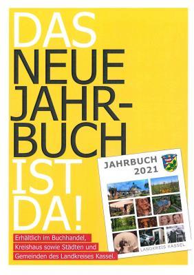 Foto zur Meldung: Ab sofort im Rathaus erhältllich: Jahrbuch 2021 / Geschichte und Geschichten aus der Region Kassel