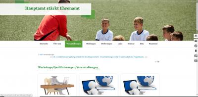 Foto zur Meldung: Digitaler Treffpunkt für Vereine – Neue Internetseite informiert ehrenamtlich Aktive & Interessierte in OSL