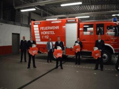 4.000 Euro für Feuerwehr - Löschzüge