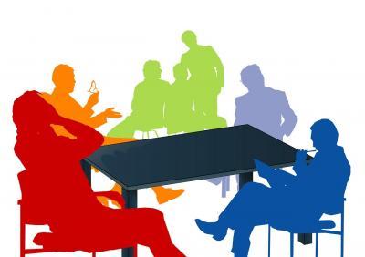 Foto zur Meldung: 8. Sitzung des Hauptausschusses