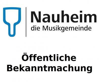 Foto zur Meldung: Aufforderung zur Einreichung von Wahlvorschlägen  für die Ausländerbeiratswahl in der Gemeinde Nauheim  am 14. März 2021