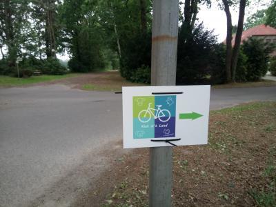 Bild der Meldung: Angliederung an das Fahrradleitsystem