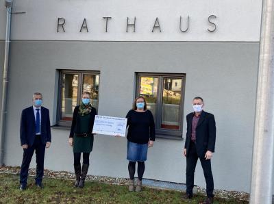 von li. nach rechts:  Michael Wolf, Franziska Heinemann, Susanne Heidecker, Robert Muhr.