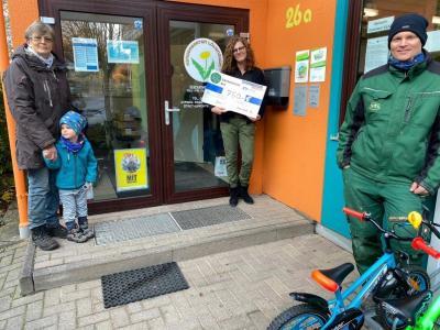 Bild der Meldung: Große Freude über 750 Euro in der Kita Löwenzahn