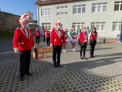 Die 51. Session des Lehniner Carnevalsvereins - trotz widriger Umstände wurde sie pünktlich eröffnet