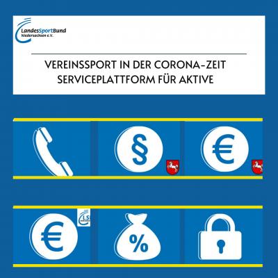 Foto zur Meldung: Vereinssport in der Corona-Zeit: Serviceplattform für AKTIVE