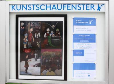 Regine Kuschke im Kunstschaufenster
