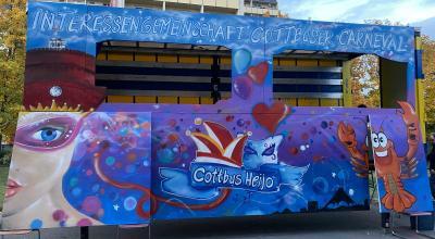 Graffiti meets Karneval