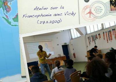 Vorschaubild zur Meldung: Atelier francophonie « Vicky »