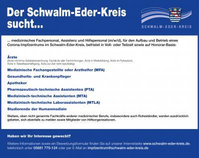 Der Schwalm-Eder-Kreis sucht...