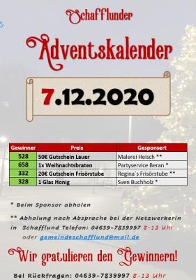 Foto zur Meldung: Adventskalender - Gewinner 7.12.