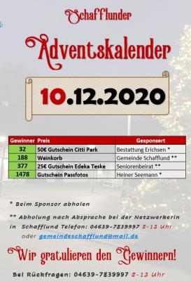 Foto zur Meldung: Adventskalender - Gewinner 10.12.