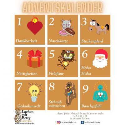 Bild der Meldung: Lachyoga Adventskalender