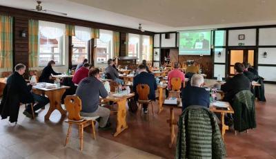 Landesbauerntag 2020 - Die Delegierten aus Südbrandenburg sind aus Göritz zugeschaltet