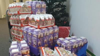 Bild der Meldung: Die Weihnachtswichtel waren frühzeitig zugange...