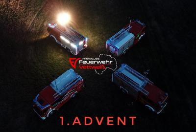 Vorschaubild zur Meldung: Advent Advent der erste Lichtmast brennt❗