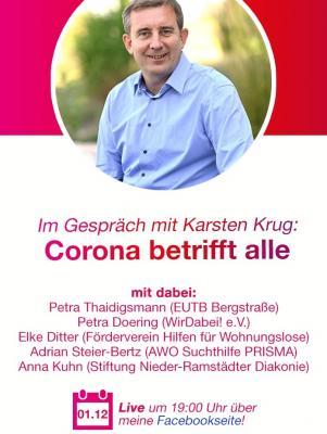 """""""Corona betrifft alle"""" - EUTB im Gespräch mit Karsten Krug"""