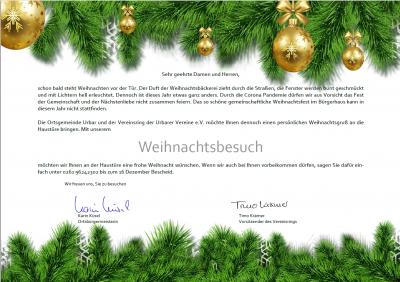 Vorschaubild zur Meldung: Weihnachtsbesuch