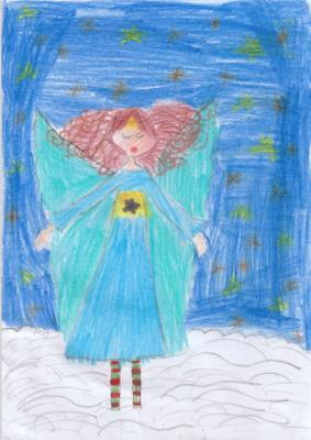 Engel für die Weihnachtskarte gesucht