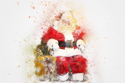Foto zur Meldung: Weihnachtsgeschichten mit dem Weihnachtsmann!