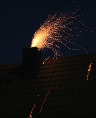 Der Schornstein brennt, was nun?