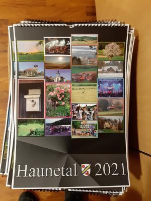 Foto zur Meldung: Premiere in Haunetal – Kalender ist fertig!