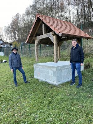 Bild der Meldung: Friedhofgestaltung in Hesseldorf geht weiter