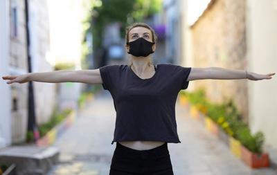 Bild der Meldung: Hinter einer Maske leichter atmen