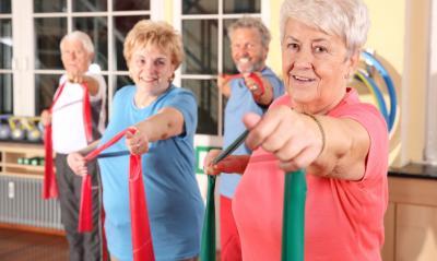 Foto zu Meldung: Mit Gymnastik fit im Alter
